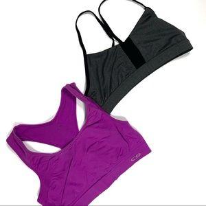 2 sports bras size large